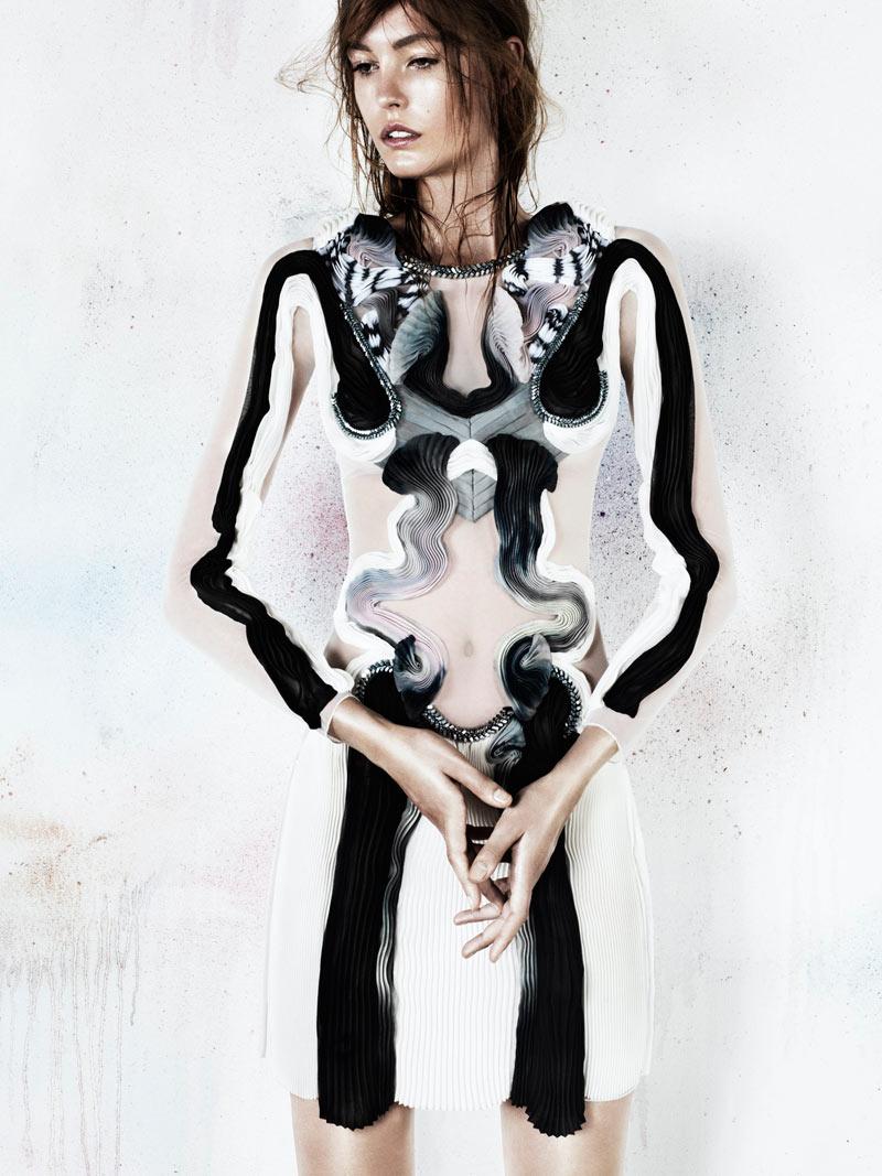 Nadja Bender Fronts Anne Sofie Madsen's S/S 2013 Campaign by Jens Langkjaer