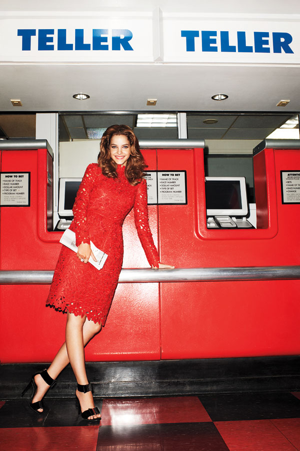 Barbara Palvin Dons Equestrian Style for Harper's Bazaar US by Terry Richardson