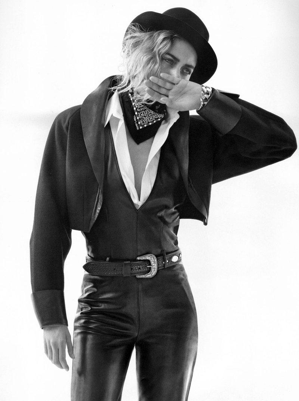 Doutzen Kroes is Chic in Boyish Looks for Inez & Vinoodh in Vogue Paris October 2012
