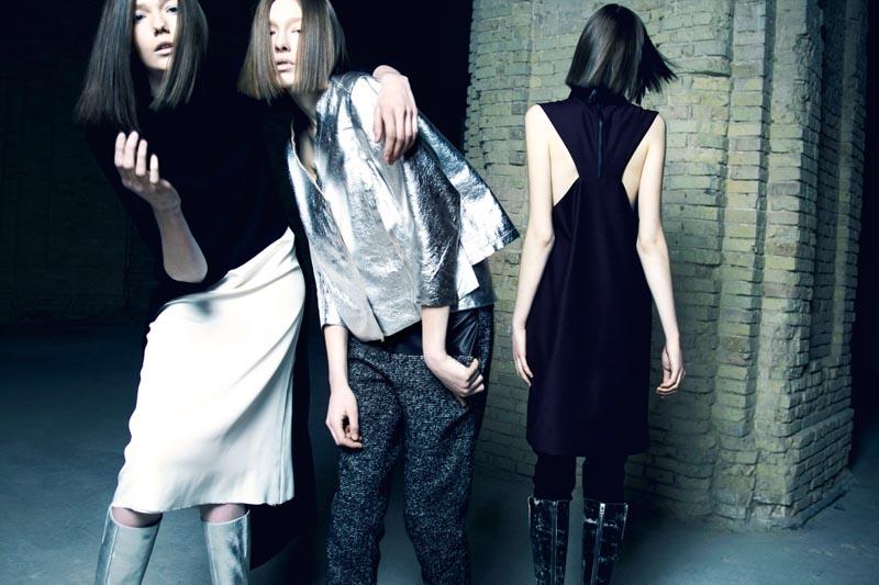 Nikolay Biryukov Captures Litkovskaya's Fall Collection for Elle Ukraine October 2012