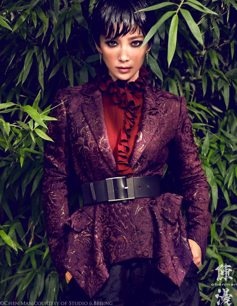 Li Bing Bing Marvels in Vogue China's October Cover Shoot by Chen Man
