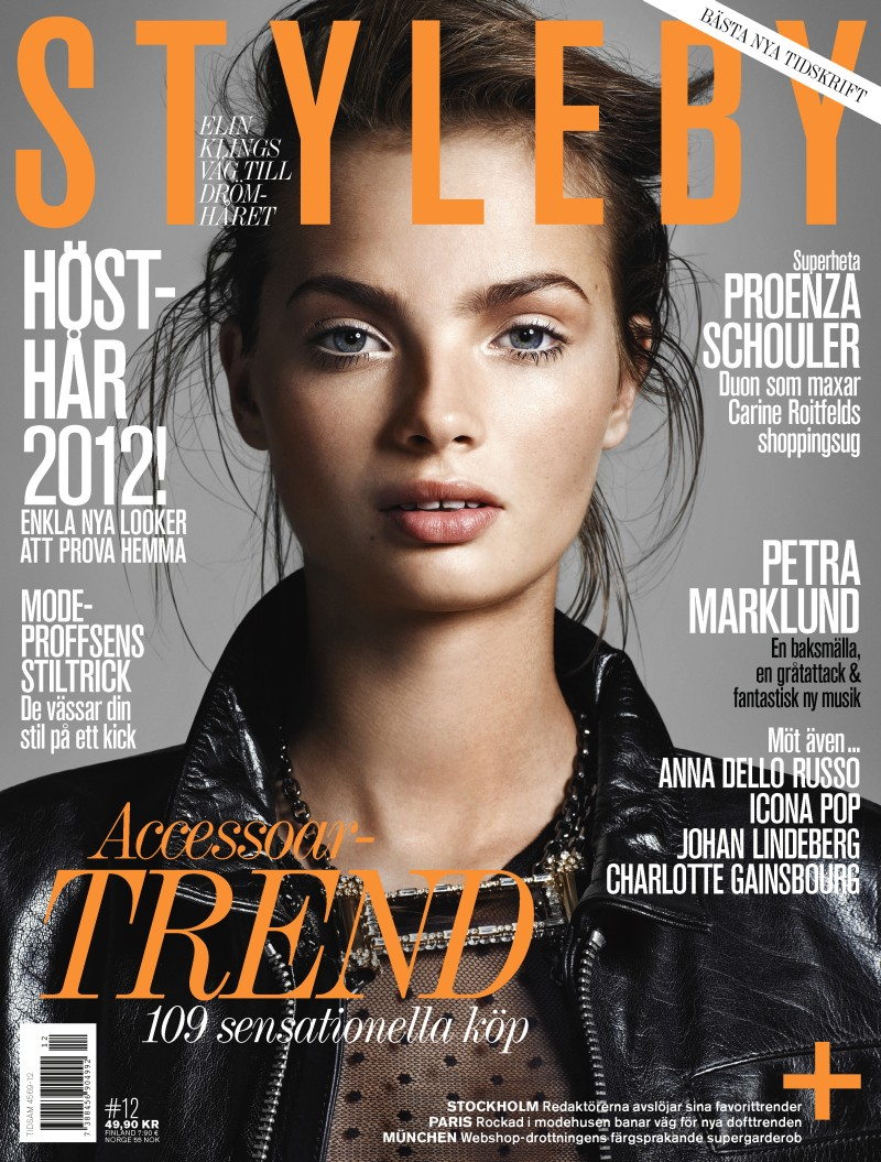 Moa Åberg Dons Funky Looks for the Cover Shoot of Styleby Magazine #12
