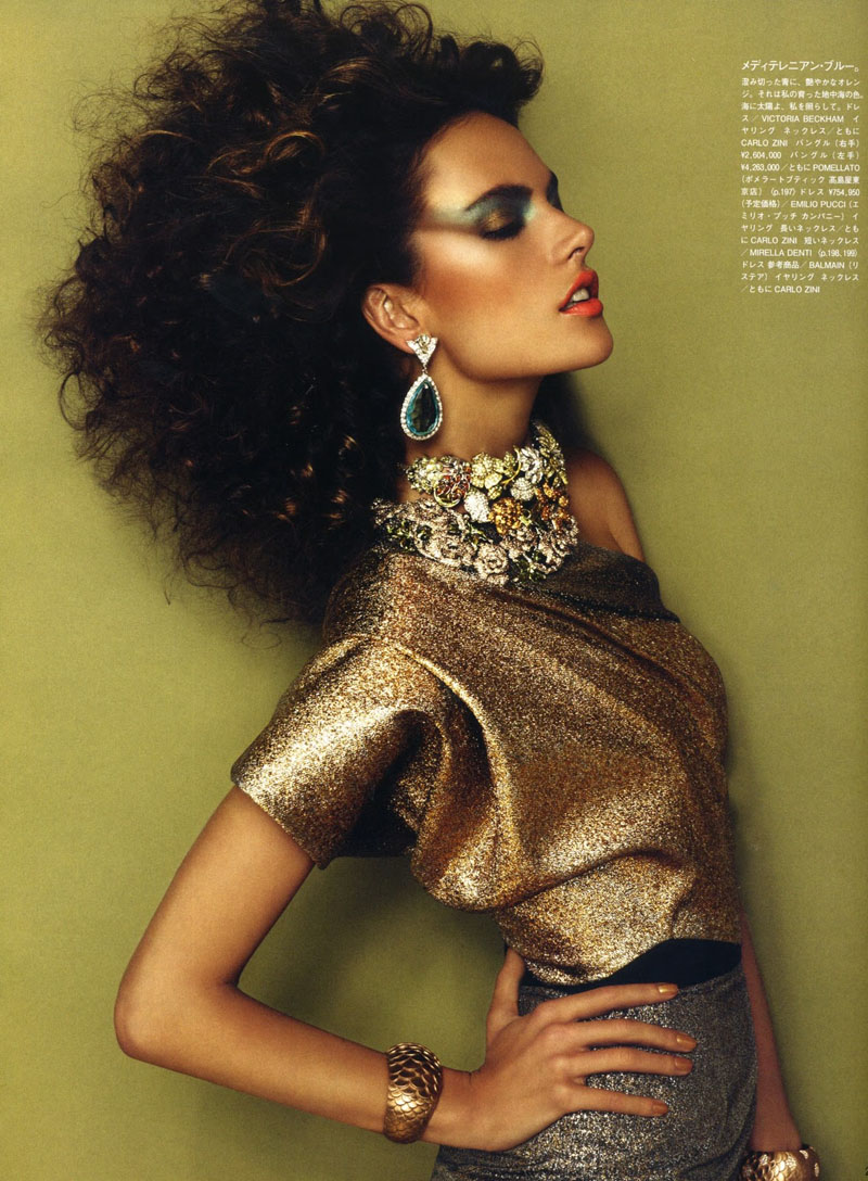 Alessandra Ambrosio by Giampaolo Sgura for Vogue Nippon December 2010