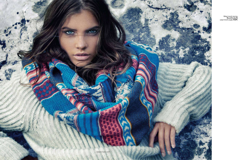 Barbara Palvin by Sebastian Kim for Vogue Russia November 2010