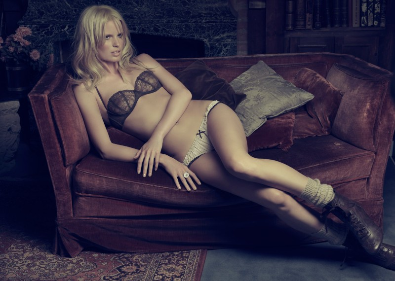 Blanco Lingerie 2010 Campaign | Caroline Winberg by Hunter & Gatti