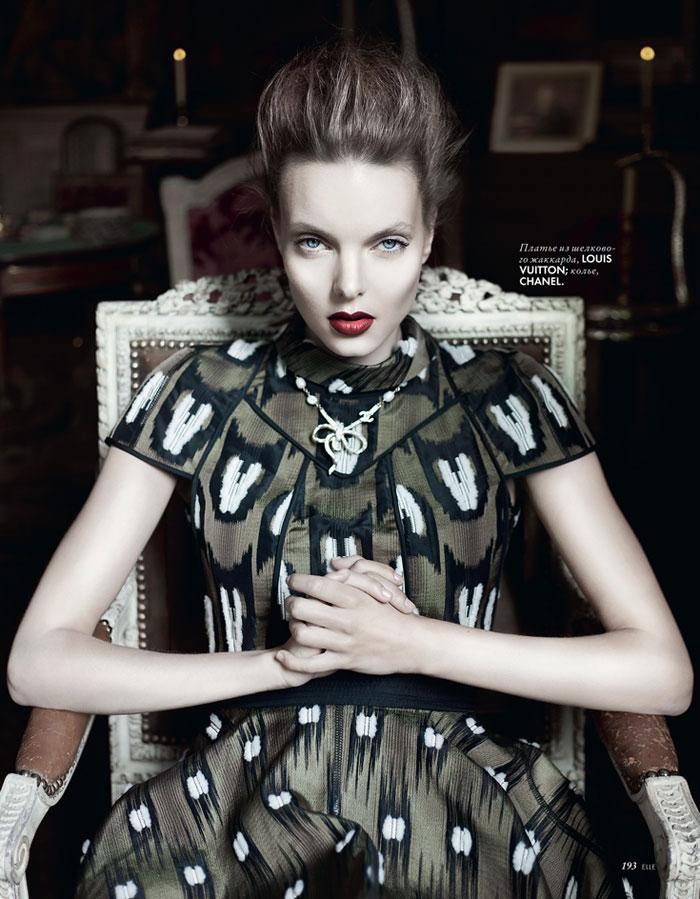 Charlotte by Nikolay Biryukov for Elle Ukraine