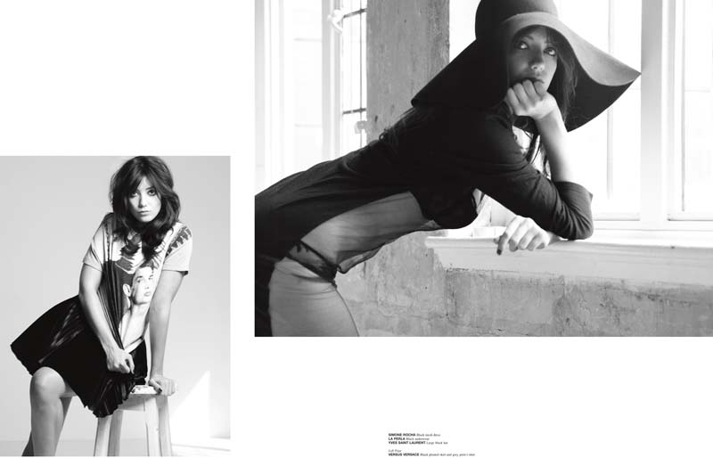 Daisy Lowe by Jermaine Francis for Crash #53