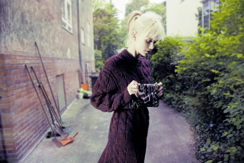 Dewi Driegen by Taki Bibelas for Marie Claire Italia October 2010