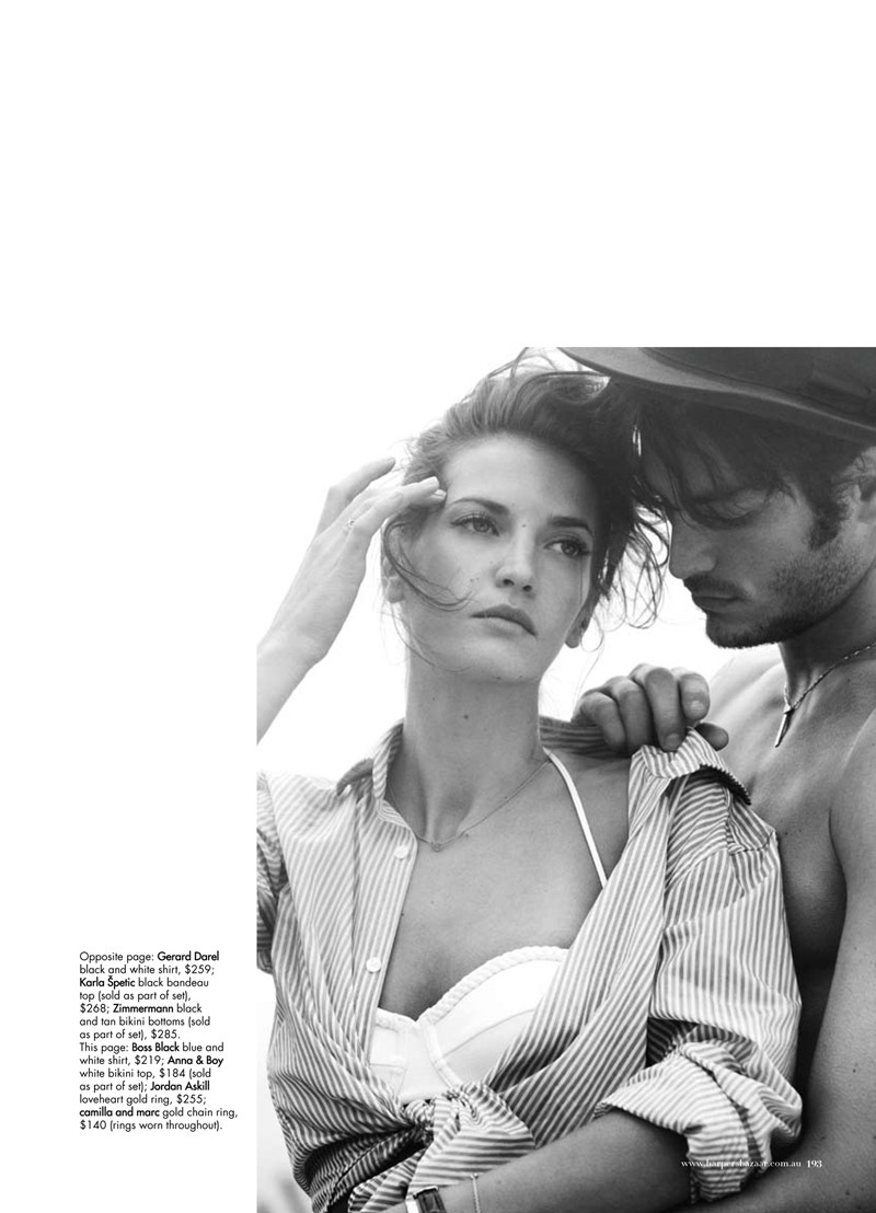 Diana Dondoe by Will Davidson in Swept Away | Harper's Bazaar Australia November 2010