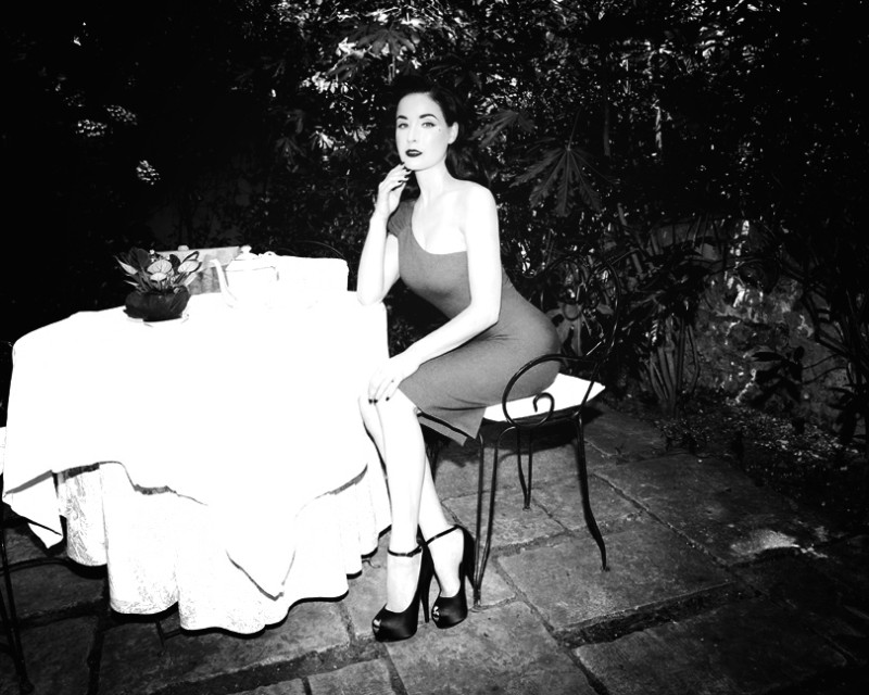 Dita von Teese by Richard Bernardin for Grazia