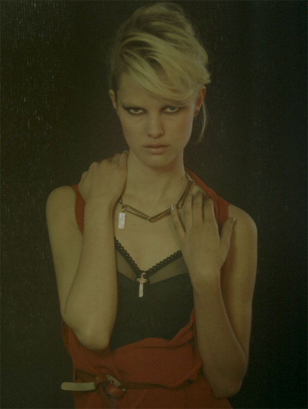 Hannah Holman by Peppe Tortora for Grey Fall 2010