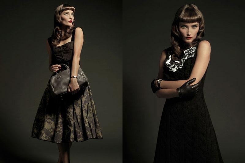 Iekeliene Stange by Xevi Muntané for Harper's Bazaar Spain November 2010