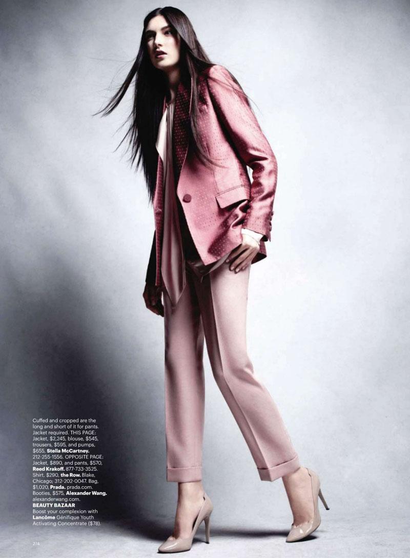 Jacquelyn Jablonski by Victor Demarchelier for Harper's Bazaar US November 2010