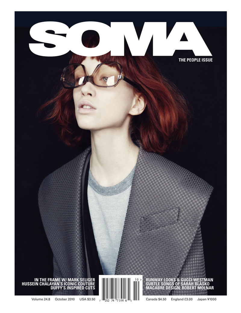 Judith Bedard by Adrian Nina for SOMA October 2010