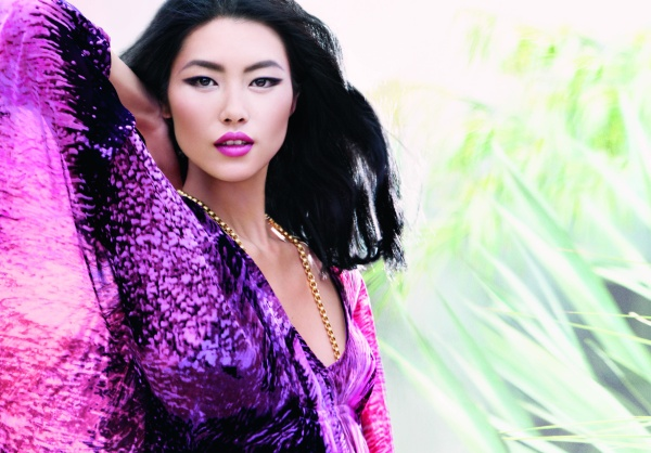 Liu Wen for Estee Lauder | First Look