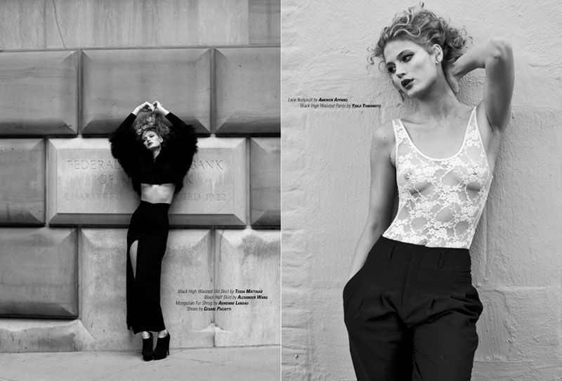 Michelle Buswell by Nicolas Padron for 25 Magazine