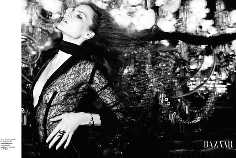 Missy Rayder for Harper's Bazaar Spain November 2010 by Nico