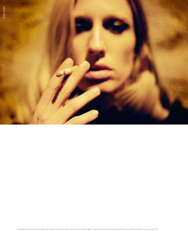 Natasa Vojnovic for Elle Serbia November 2010 by Dusan Reljin