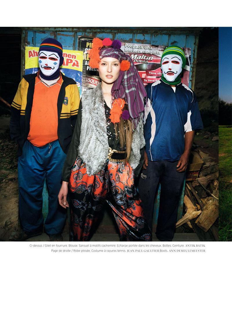 Meghan Collison & Solange Wilvert by Thierry Le Gouès for French Revue de Modes F/W 2010