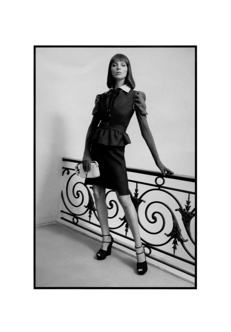 Yves Saint Laurent Fall 2010 Campaign | Daria Werbowy by Inez van Lamsweerde & Vinoodh Matadin