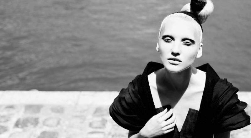 Anastasia Shershen by Nikolay Biryukov in Litkovskaya | Elle Ukraine