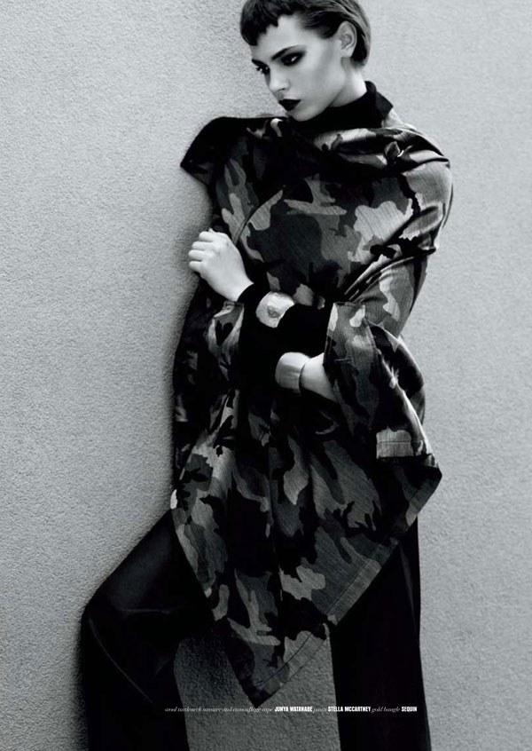 Mina Cvetkovic by Nick Heavican for The Block Fall 2010