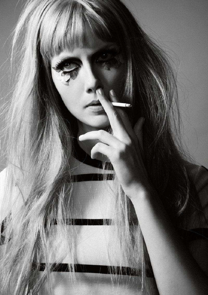 Ana Claudia Michels by Joshua Allen for Contributor Magazine F/W 2010
