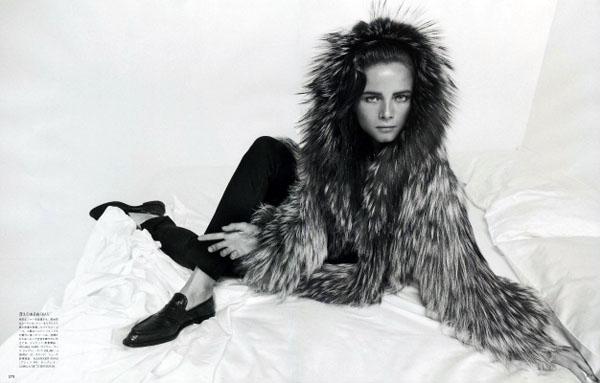 Anna de Rijk by Inez & Vinoodh for Vogue Nippon November 2010