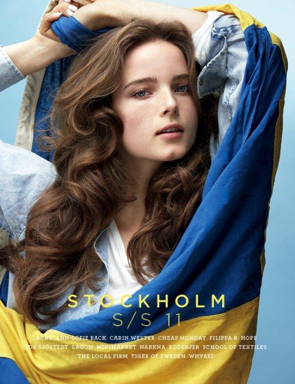 Stockholm S/S 2011 Cover   Anna de Rijk by Thomas Klementsson