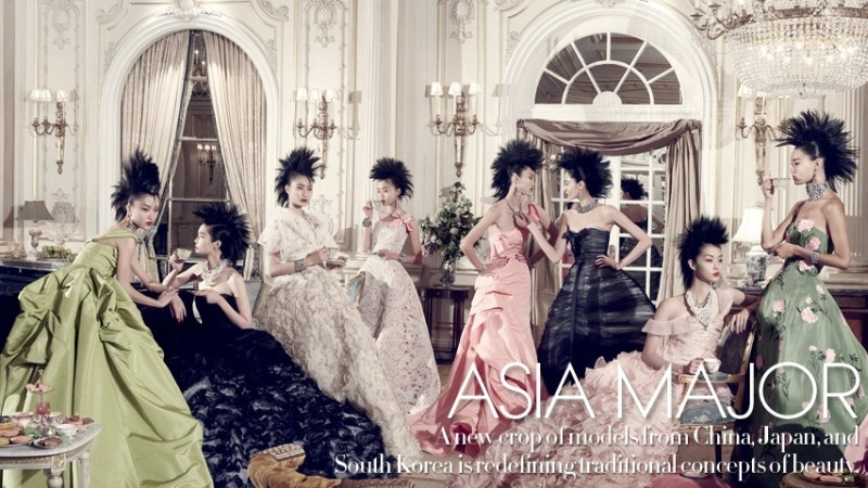 Asia Major by Steven Meisel for Vogue US December 2010