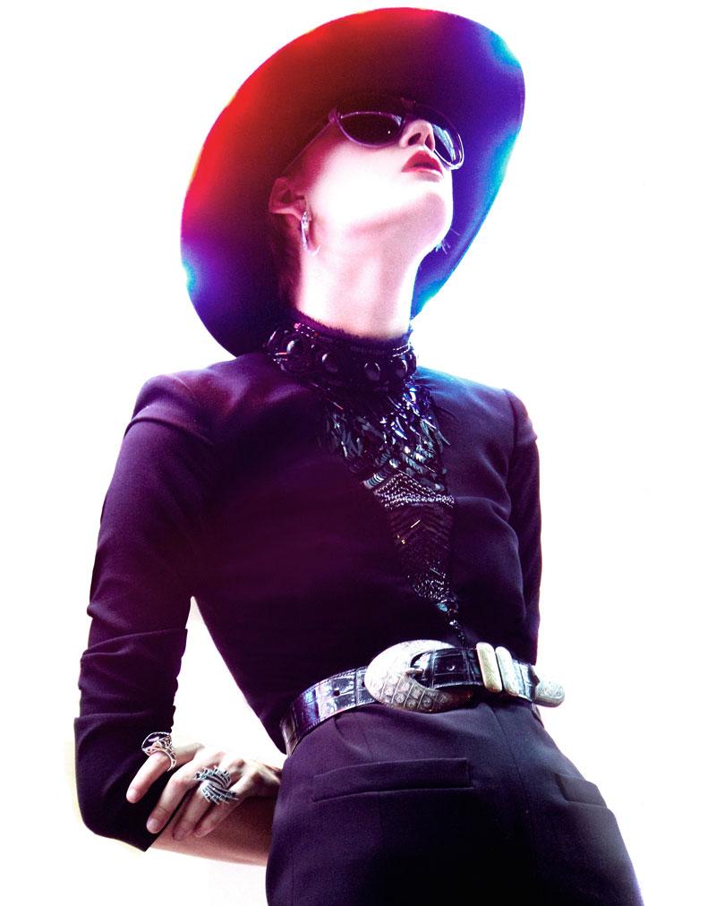 Daniela Kocianova by Manolo Campion for Flair Austria