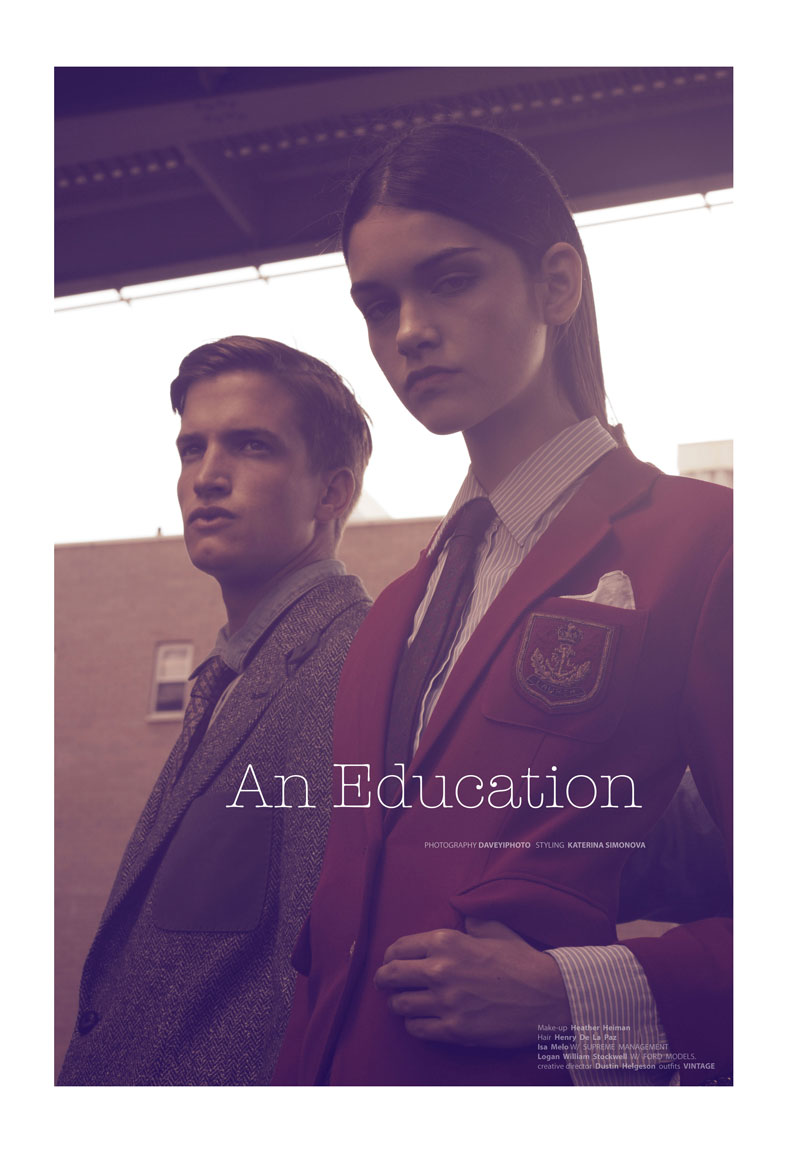An Education by DaveyiPhoto for Creem Magazine