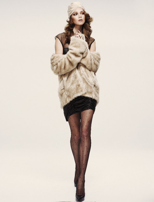 Lena Lomkova by Emre Dogru for Vogue Turkey December 2010
