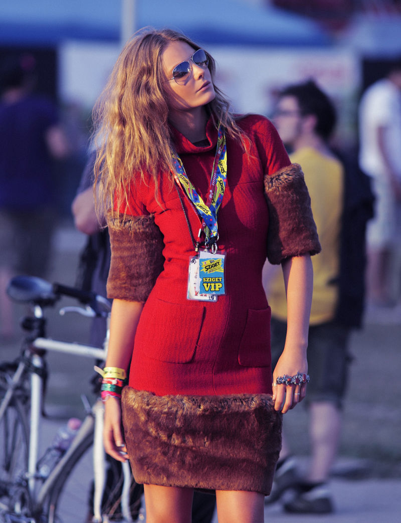 Eniko Mihalik by Zoltan Tombor for Glamour Hungary