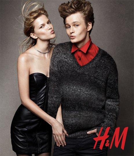 H&M Holiday 2010 Campaign | Mariacarla Boscono, Liya Kebede & Stella Tennant