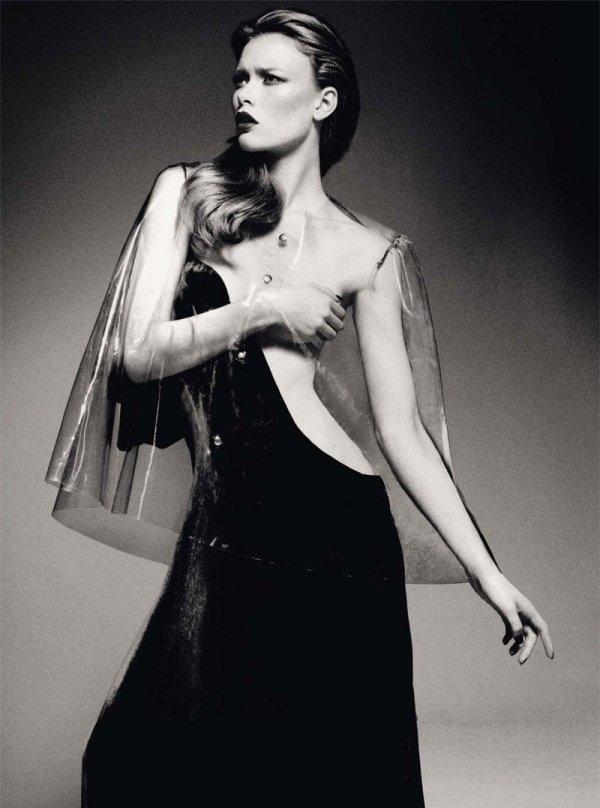 Julia Hafstrom by Jason Kibbler for Harper's Bazaar UK December 2010