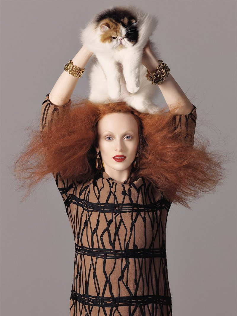 Morning Beauty | Karen Elson by Steven Meisel