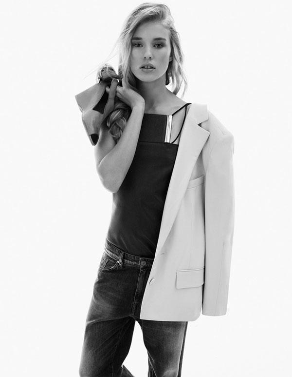 Keke Lindgard by Simon Burstall for Elle France