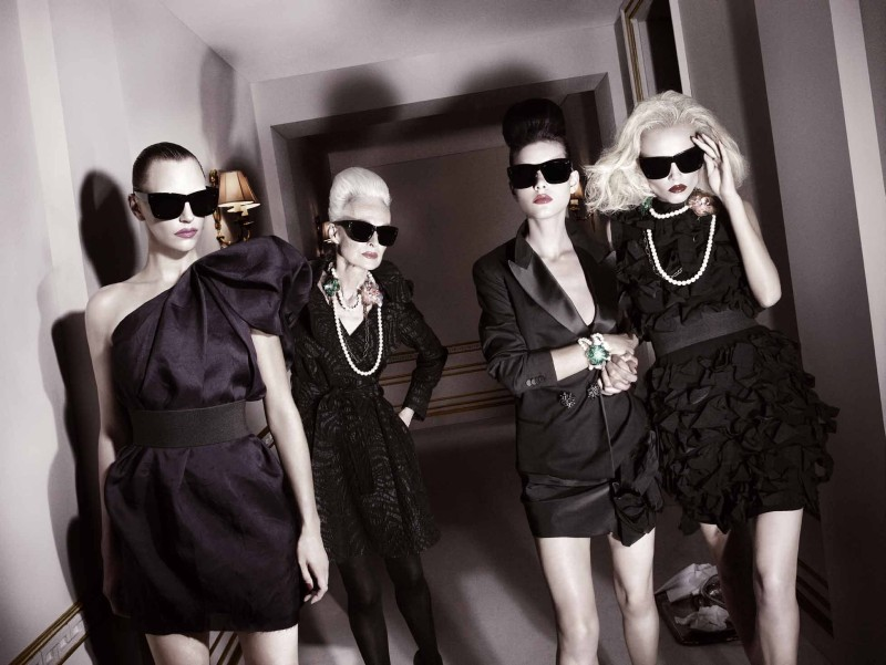 Lanvin for H&M Fall 2010 Campaign by David Sims