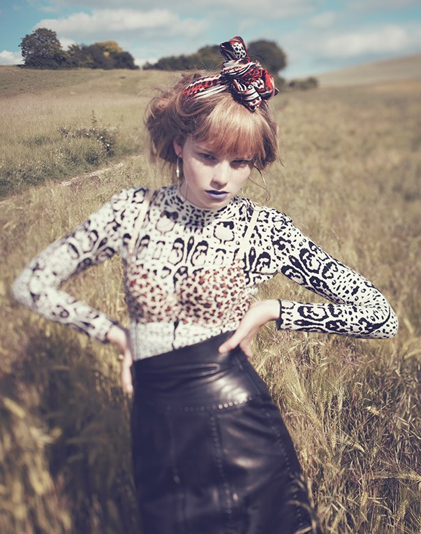 Donna Loos by Mara Zampariolo in Take a Walk on the Wild Side