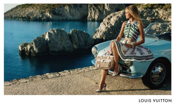 Louis Vuitton Resort 2011 Campaign | Anne Vyalitsyna by Mark Segal