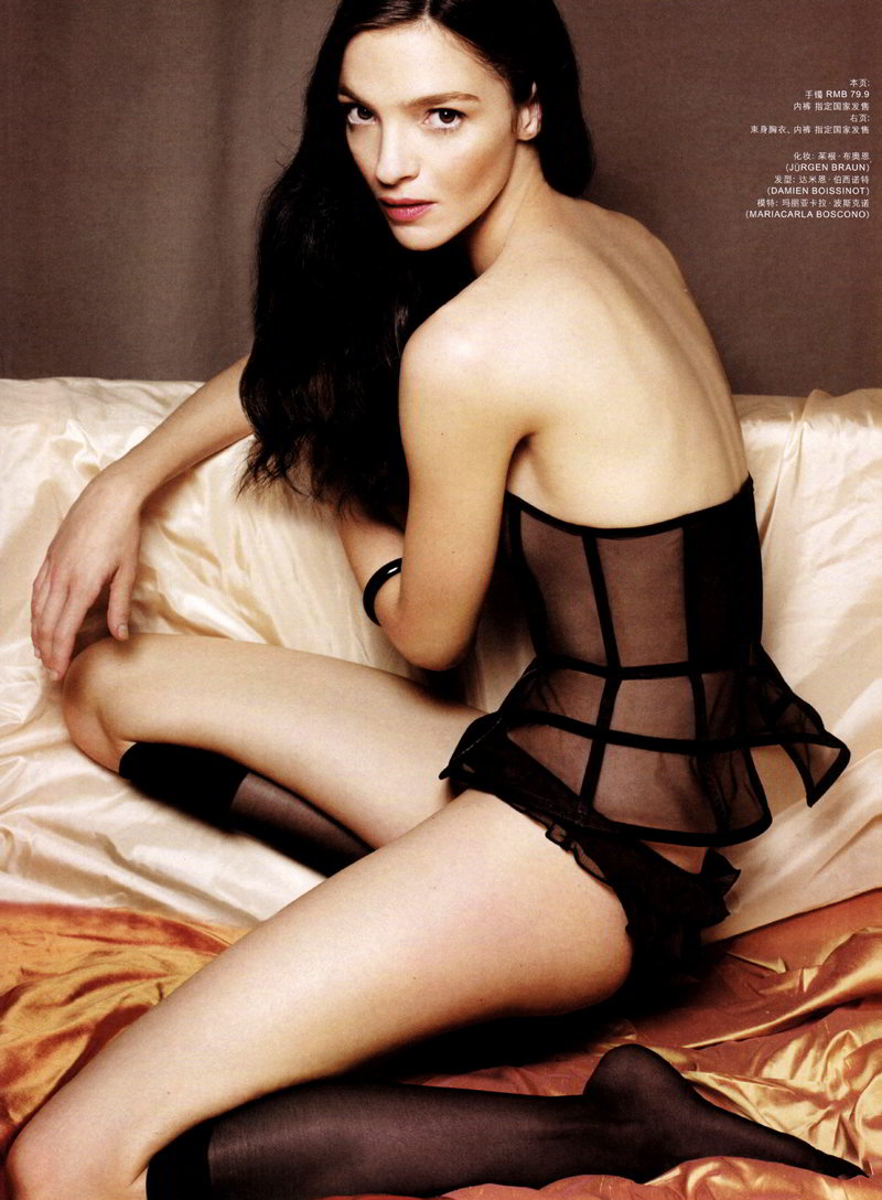 Mariacarla Boscono for H&M Magazine Winter 2010 by Jan Welters