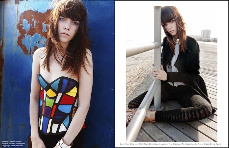 Meghan Collison by Blossom Berkofsky for Dossier Journal