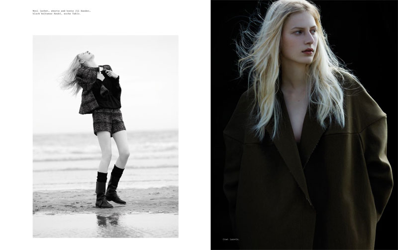 Julia Nobis for Metal Magazine #21 by Can Evgin