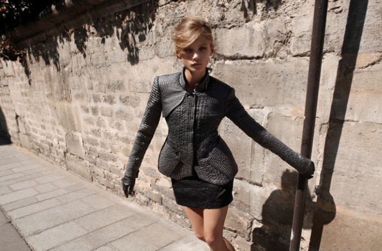 Anna Selezneva for Michaa Fall 2010 Campaign