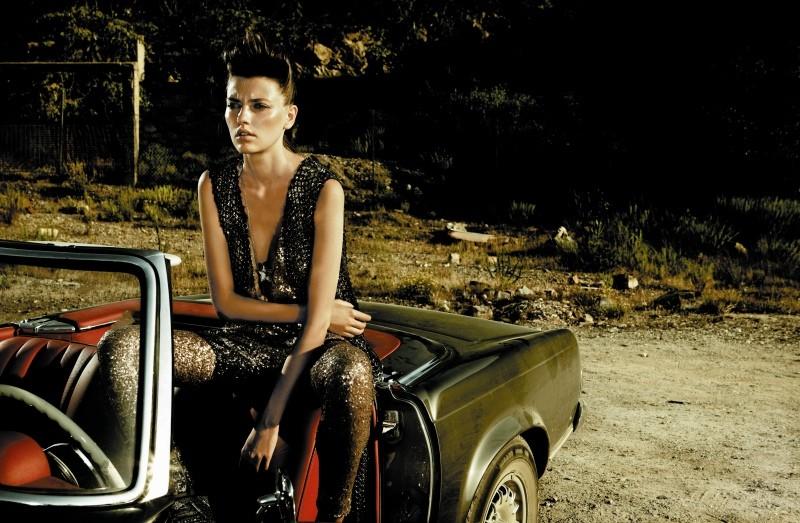 Alina Baikova by Rennio Maifredi for Marie Claire Italia November 2010
