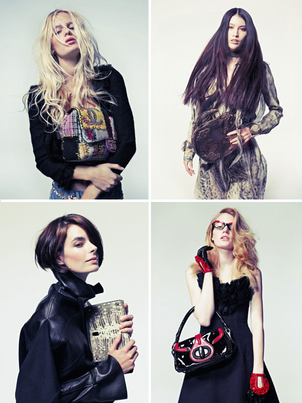12 New Faces by Taki Bibelas for Marie Claire Italia November 2010
