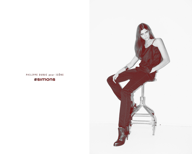 Alison Nix by Richard Bernardin | Philippe Dubuc for Simons Fall 2010 Campaign