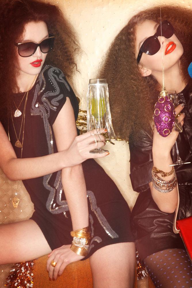 Katja Kulyzhka & Diana Rudenok by Jamie Nelson for Nylon January 2011