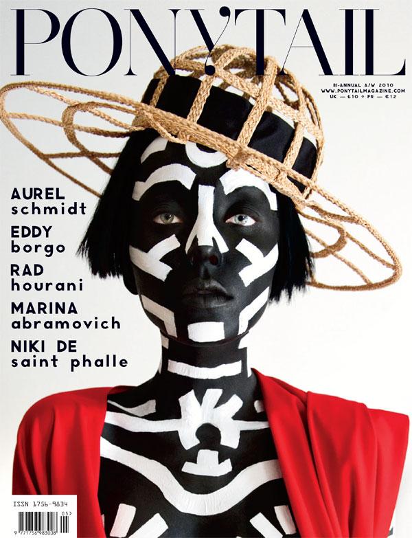 Ponytail F/W 2010 Cover   Andressa Fontana by Jeffrey Graetsch